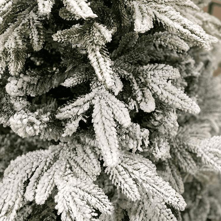 елка белая снежная люкс в астане