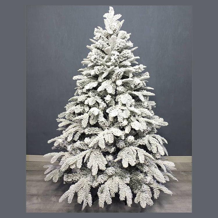 елка снег